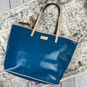 Coach Park Metro Patent Tote Bag